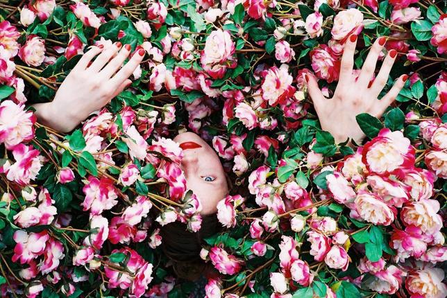 Ren Hang fleurs