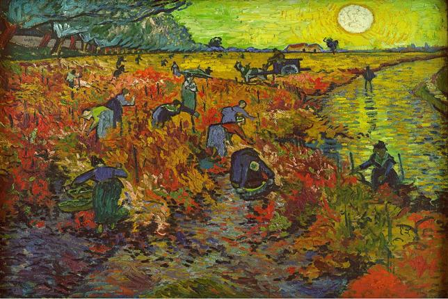 Van Gogh La Vigne Rouge