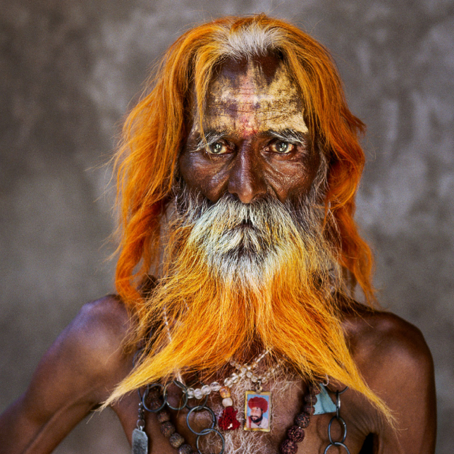 Steve McCurry photography old man portrait