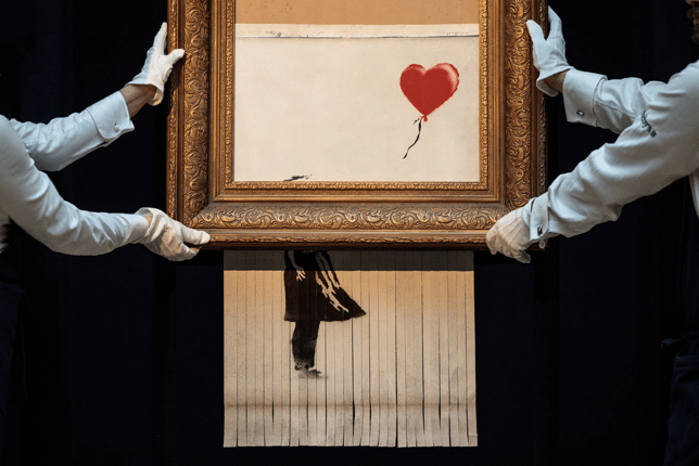 Banksy, Girl with a Balloon