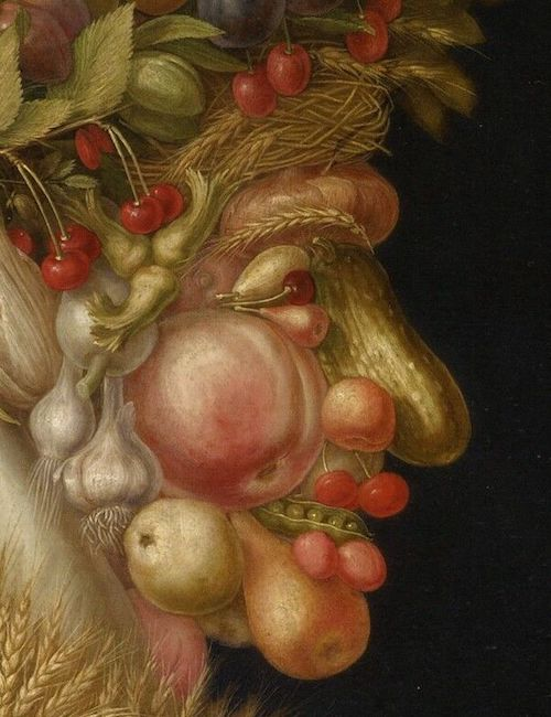 The four seasons in art summer in art Arcimboldo summer painting