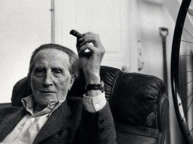 Henri Cartier-Bresson, Marcel Duchamp, 1960 ca