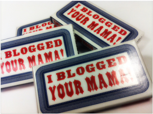 I just blogged yourr momma