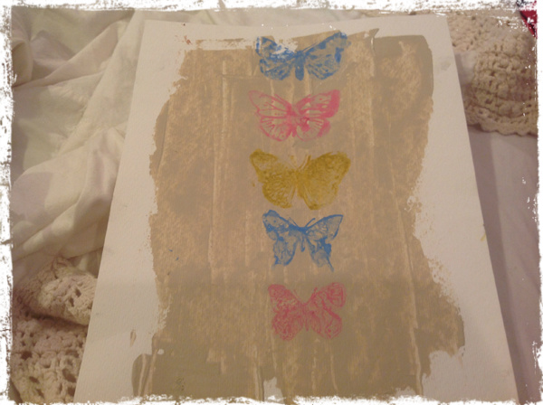 Butterfly Wallhanging 2