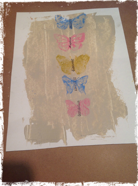 Butterfly Wallhanging 4