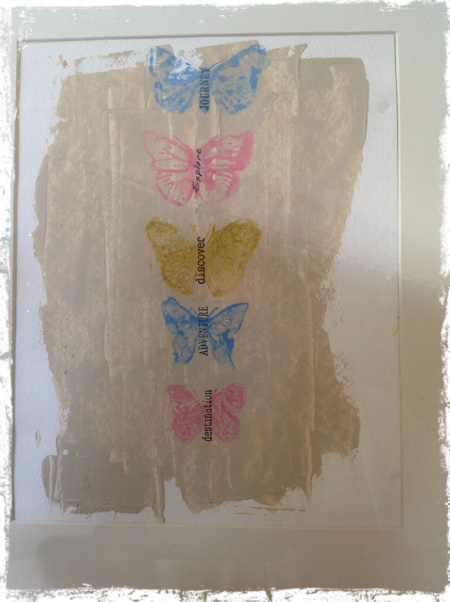 Butterfly Wallhanging 6