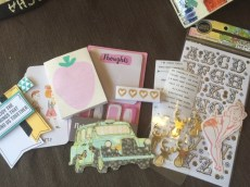 Misc Goods including Target Dollar Spot Finds (Strawberry Pad)