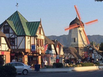 The cute Danish town of Solvang