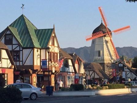 The cute Danish town of Solvang