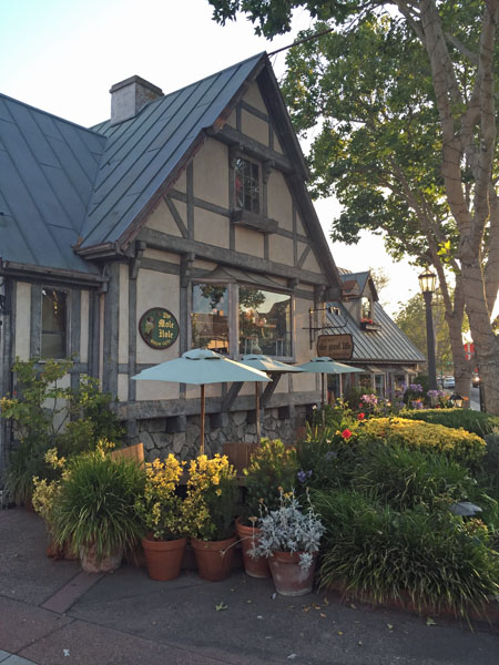 The town of Solvang
