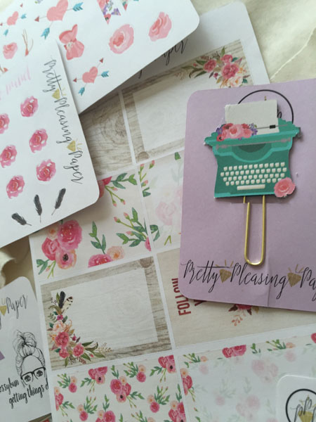 Oh so beautify - Planner Stickers and Clip