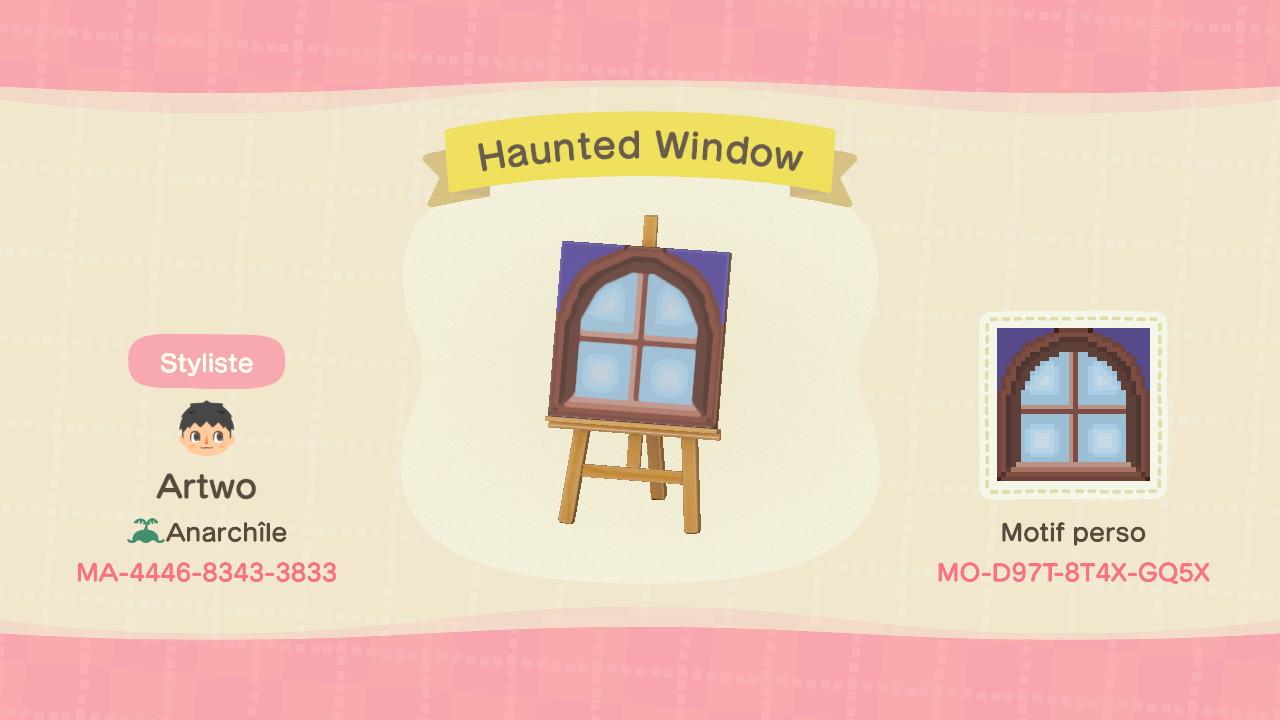 Haunted Window ACNH