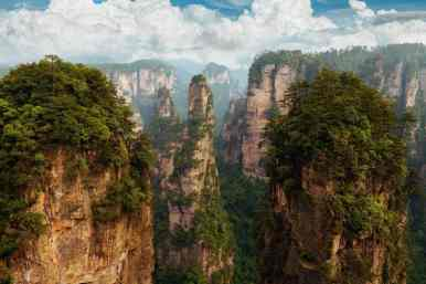 Zhangjiajie National Forest Park - 12 Breathtaking Places to Spend Your Birthday Vacation