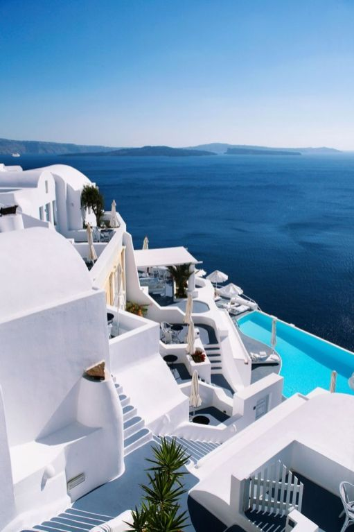 Santorini, Greece - 12 Breathtaking Places to Spend Your Birthday Vacation
