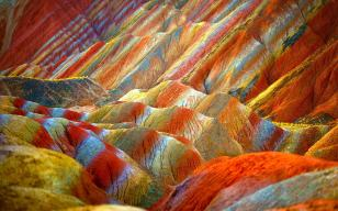 The Rainbow Mountains, China - - 12 Breathtaking Places to Spend Your Birthday Vacation