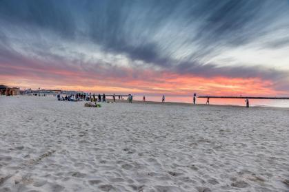 Gordon Beach Sunset, Tel Aviv, Israel