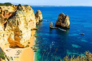Beach in Lagos, Portugal - 10 Best Beaches Around the World - ASAP Tickets Travel Blog