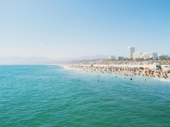 Santa Monica Beach California