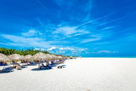Varadero Beach Cuba Umbrellas