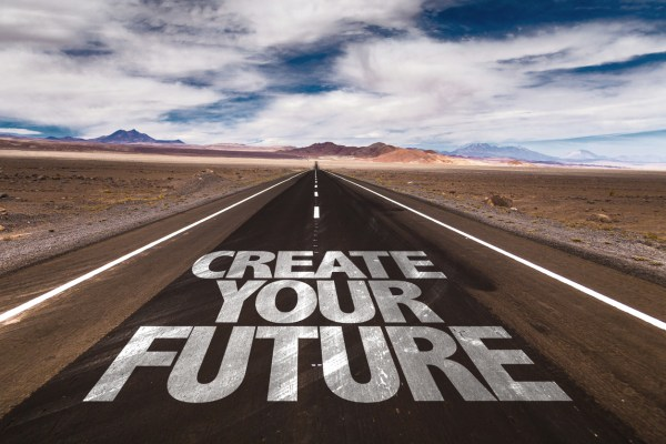 Create Your Future sign