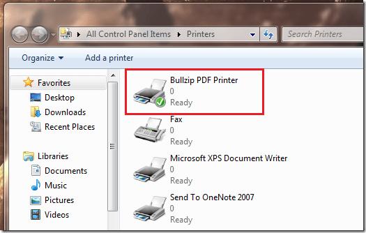 Bullzip Pdf Printer Ghostscript