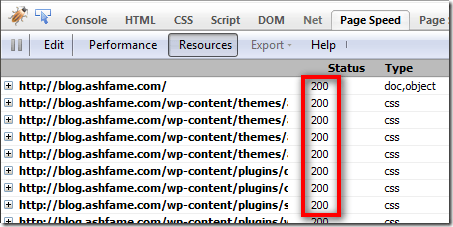 Examine HTML headers in Firefox and Google Chrome