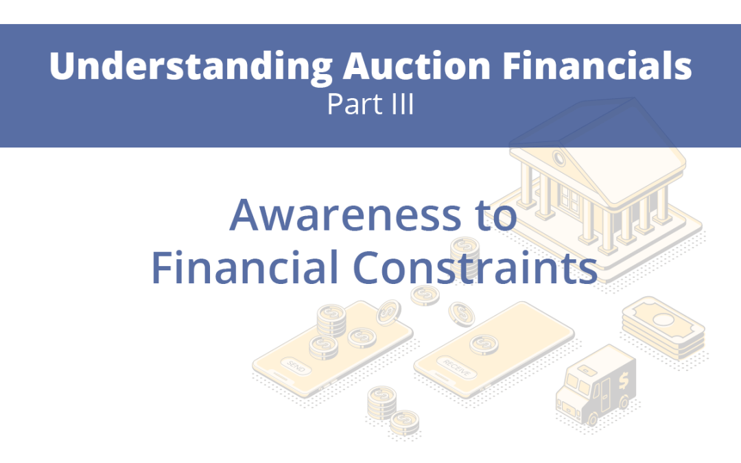 Part 3: Awareness to Financial Constraints