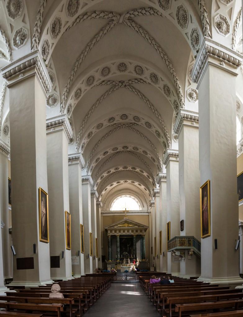 Веутри собора Св. Ствнислава