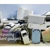 Responsibly disposing of the redundant gadgets