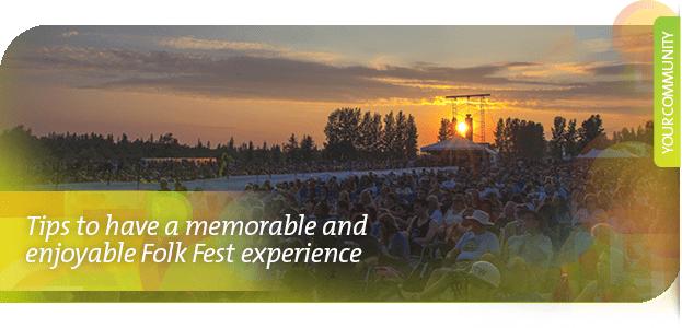 6 tips to have an enjoyable Folk Festival