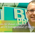 Congratulations to Shaun Loney on being named an EY (formerly Ernst & Young) Entrepreneur of the Year for their Prairie Region! Creating Training and Job Opportunities