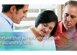 it's important that we talk about death. Or more accurately, wills.