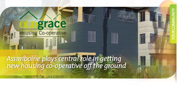 Assiniboine plays central role in getting new housing co-operative off the ground