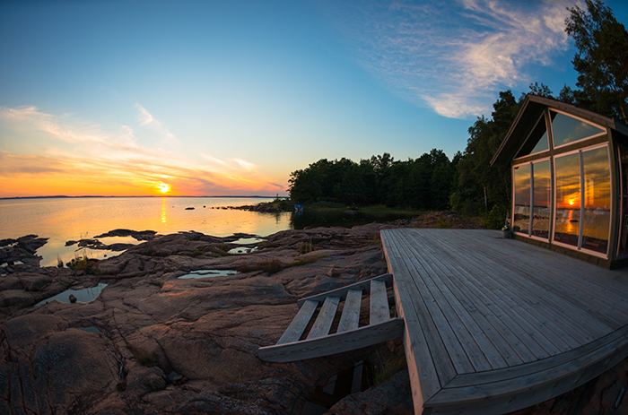 Cabin at the lake investment property