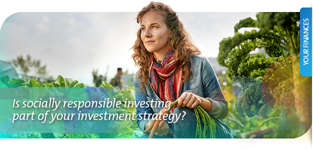 Is socially responsible investing part of your investment strategy?