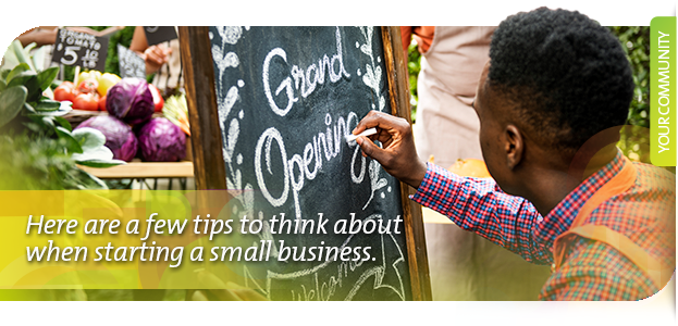 Starting a small business?
