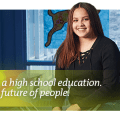 It's not about a high school education. It's about the future of people.