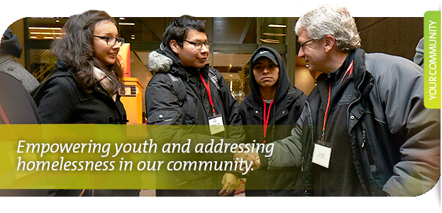 Empowering youth and addressing homelessness in our community.