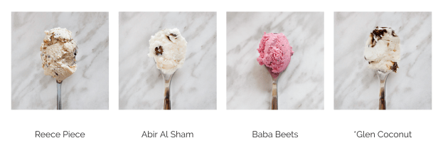 Chaeban Ice Cream flavours