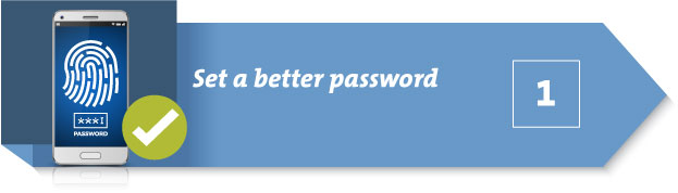 Password protect lost my smartphone