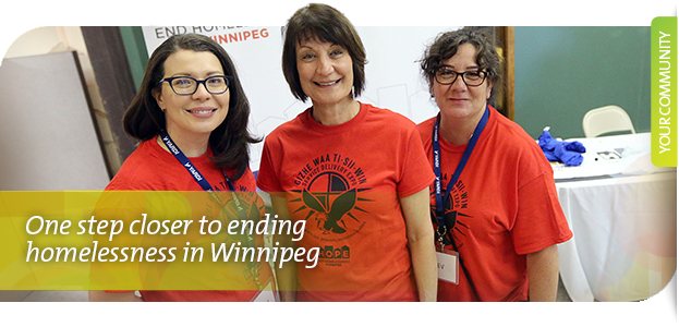 One step closer to end homelessness in Winnipeg