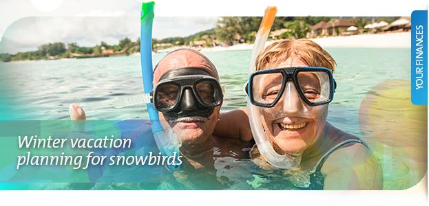 winter vacation planning snowbirds