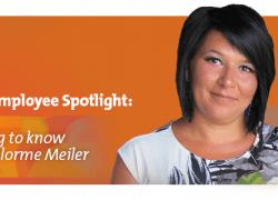 Lisa Delorme Meiler, graphic designer, assiniboine credit union