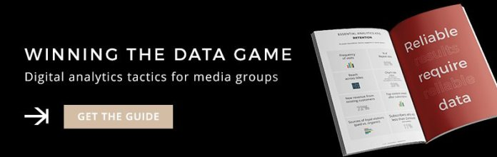 Digital analytics tactics for media groups - Guide
