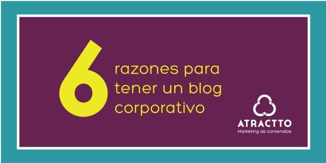 razones para tener un blog corporativo