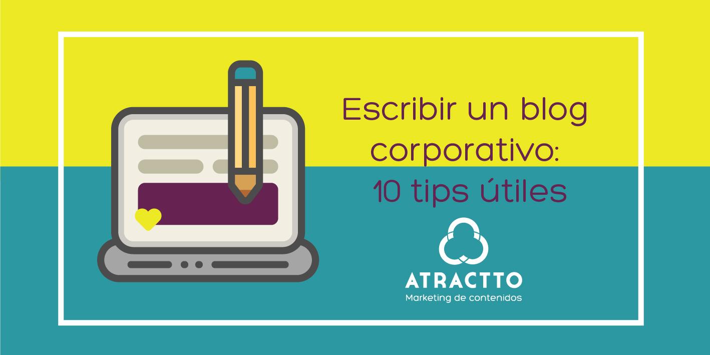 escribir un blog corporativo