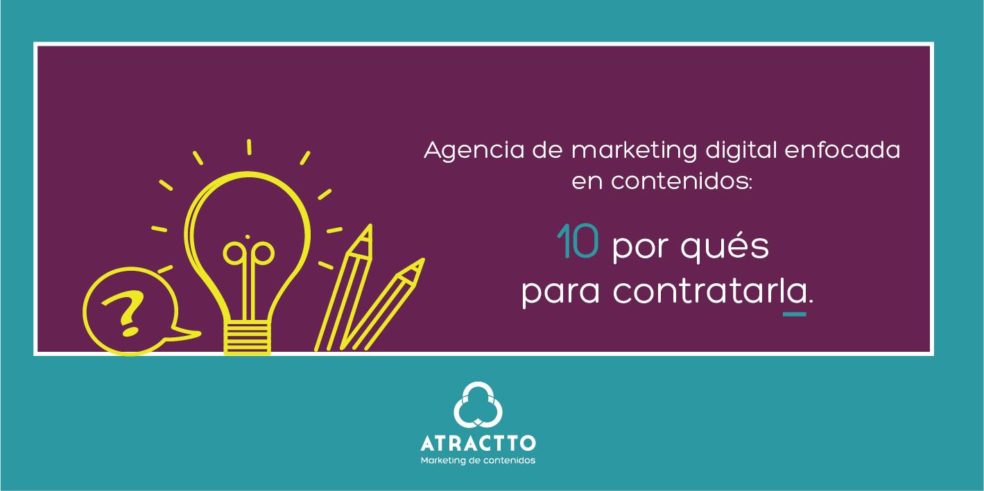 AGENCIA DE MARKETING DIGITAL ENFOCADA EN CONTENIDOS