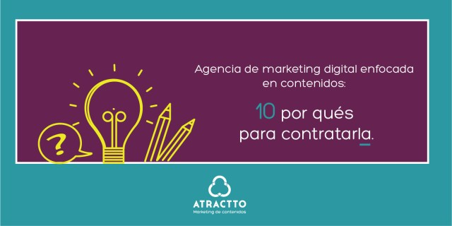 AGENCIA DE MARKETING DIGITAL ENFOCADA EN CONTENIDOS