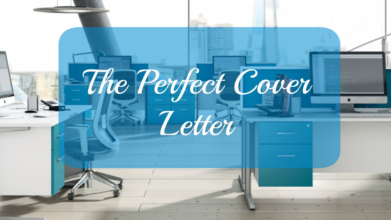 The Perfect Cover Letter   Atwood Tate The Perfect Cover Letter
