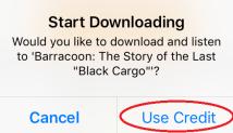Start downloading 2.